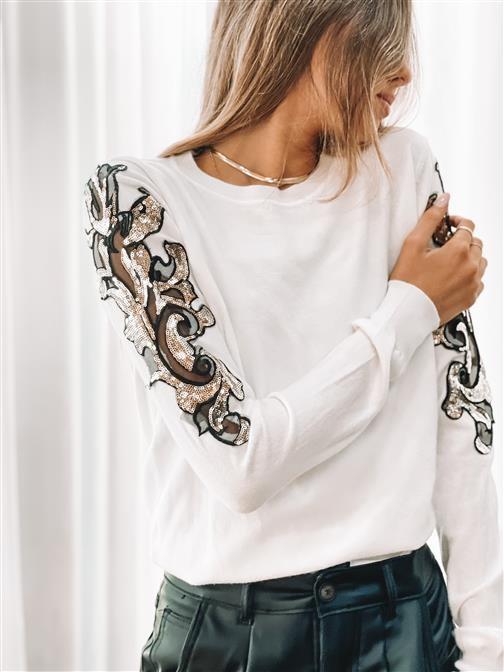 Sweater Ravena White