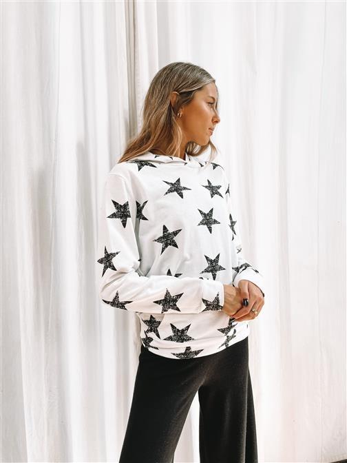 Buzo Black Stars con Capucha